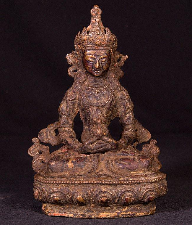 Old bronze Aparmita statue