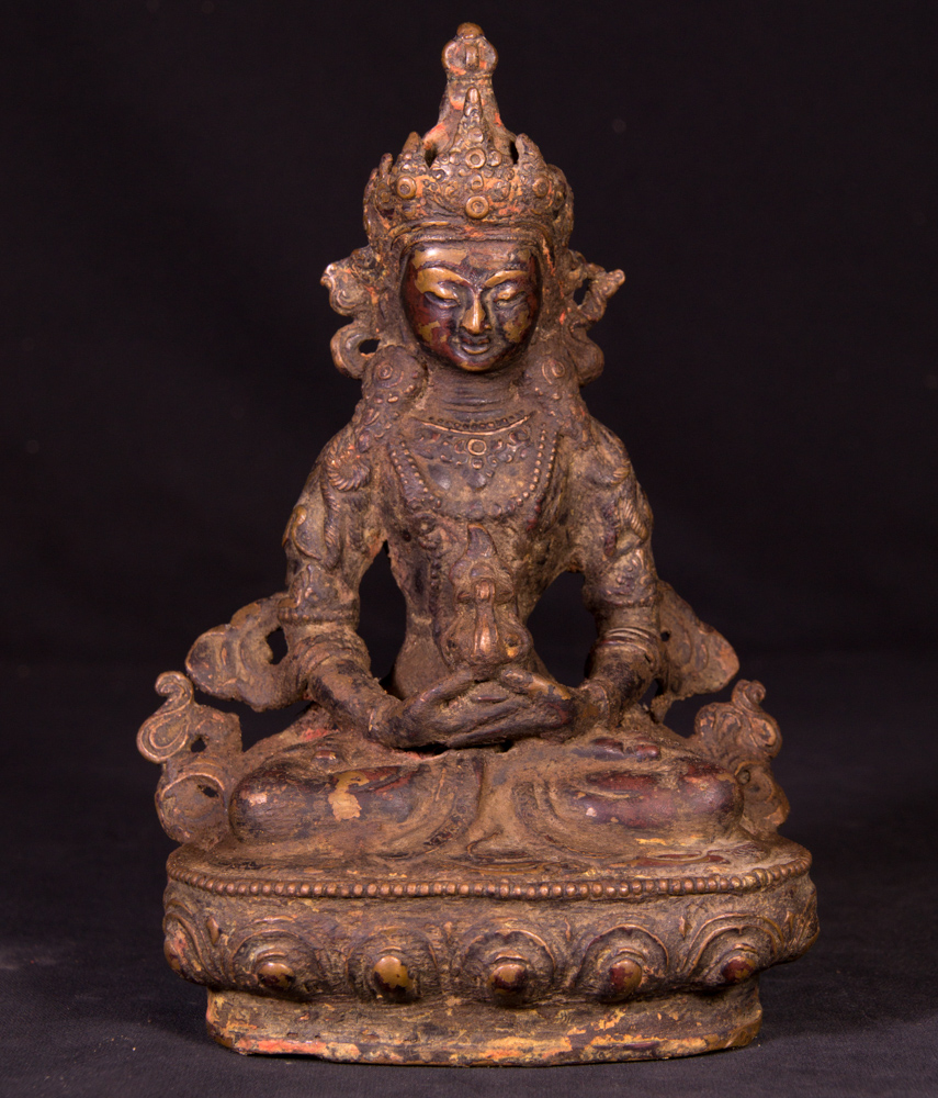 Old bronze Aparmita statue from Nepal