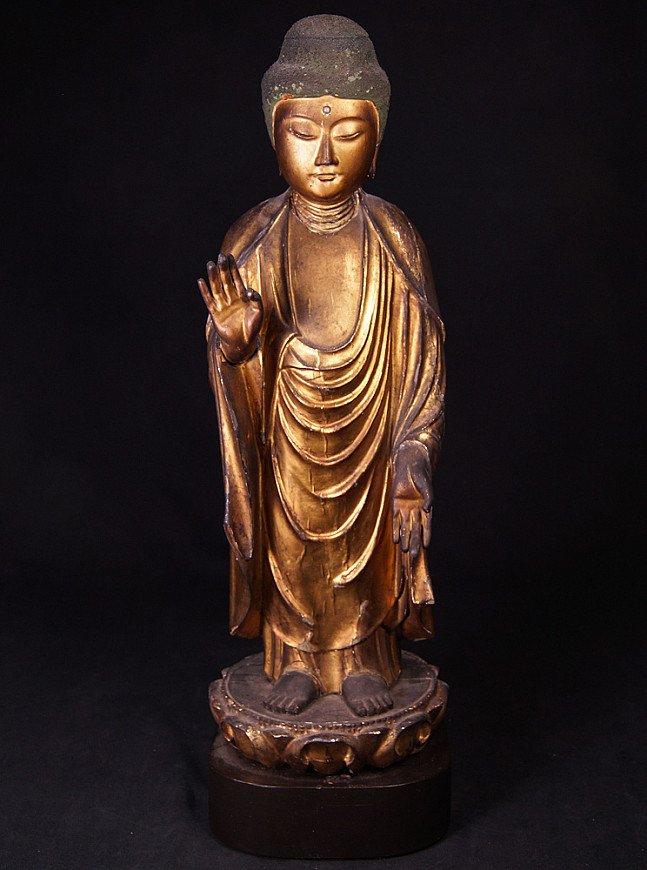 Antiek Japans Boeddhabeeld