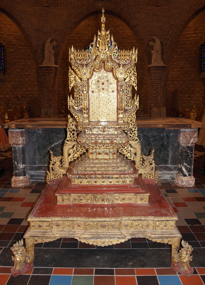 Large antique Burmese Throne from Burma