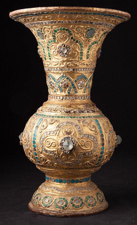 Antique Burmese vase