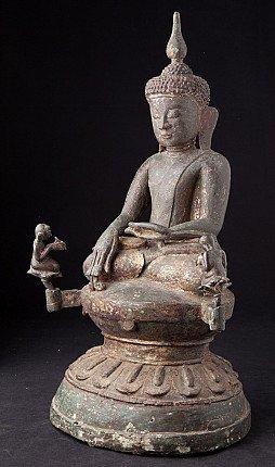 Special bronze Ava Buddha statue