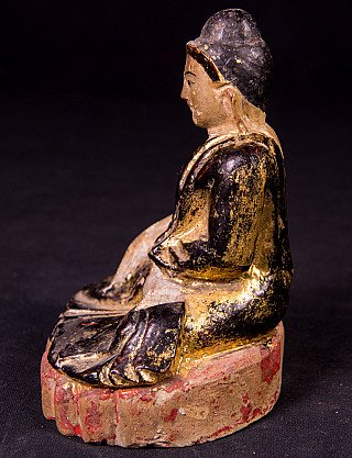 Antique Mandalay Buddha statue