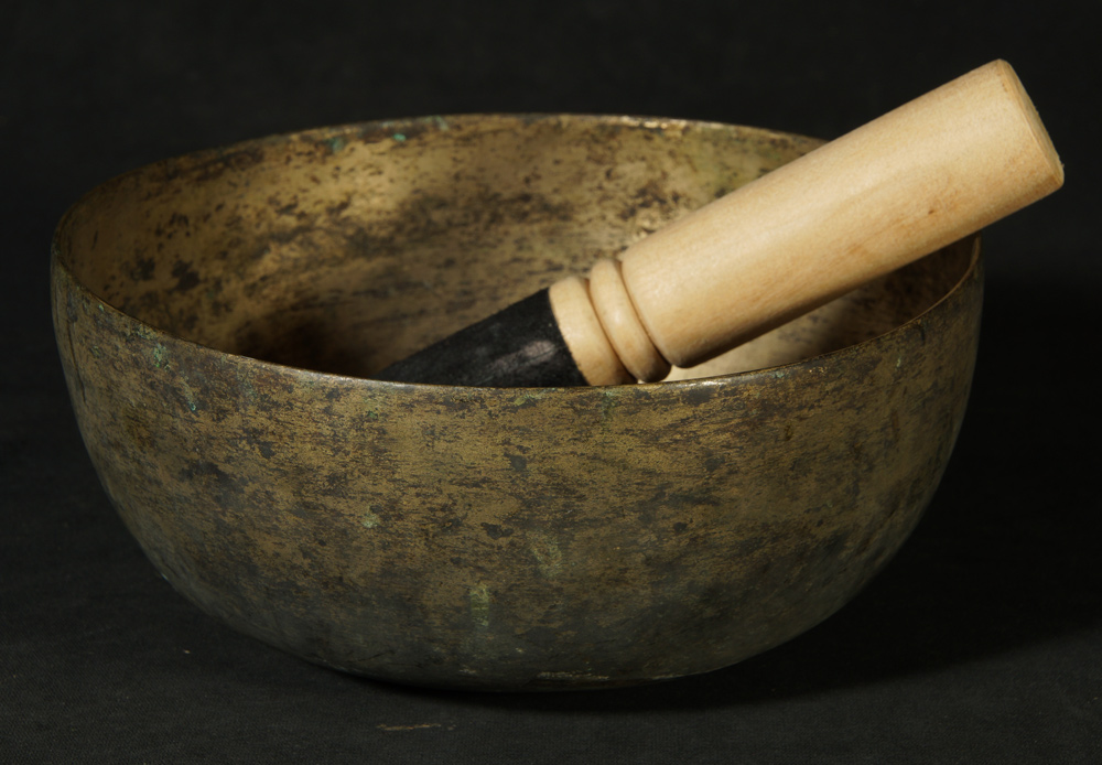 Old Nepali Singing Bowl from Nepal