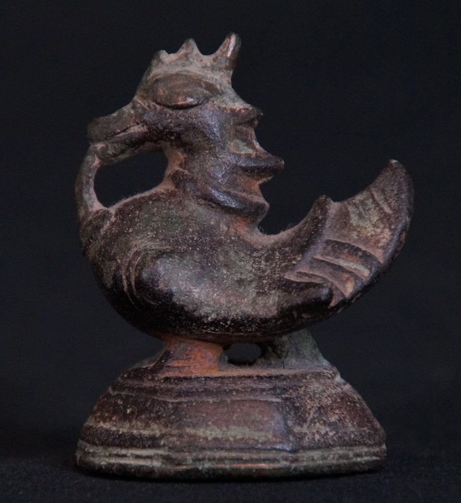 Antique Hintha Opium Weight from Burma made from Bronze
