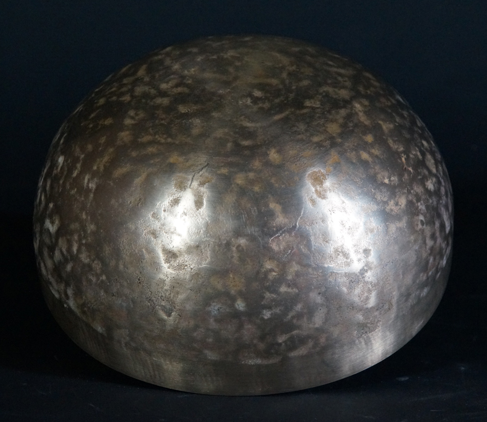 Nepali handbeaten Singing Bowl from Nepal made from Made of 7 different metals