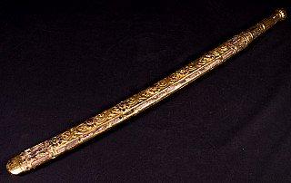 Antiek Birmees Zwaard