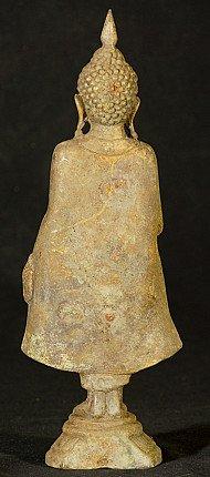 Alte bronze Buddha Figur