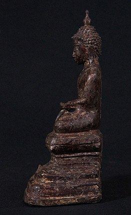 Antiek bronzen Boeddhabeeld