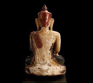 Museum quality Alabaster Buddha statue