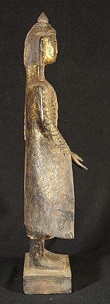 18e eeuws houten Boeddhabeeld