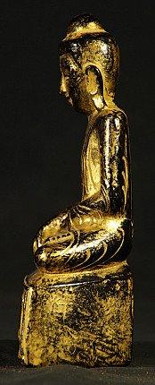 Alte Birmanische Shan Buddha Figur