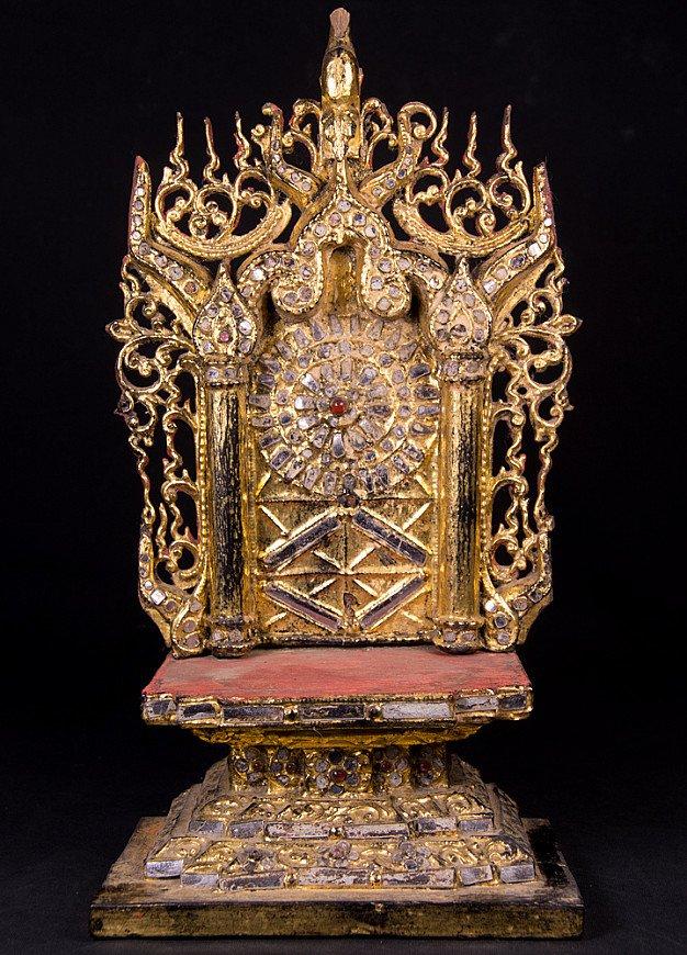 Antique Buddha Throne