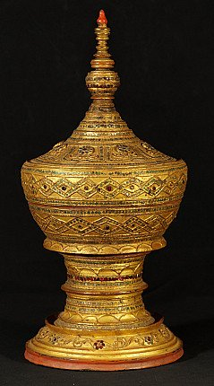 Antike Birmanische Opferschale