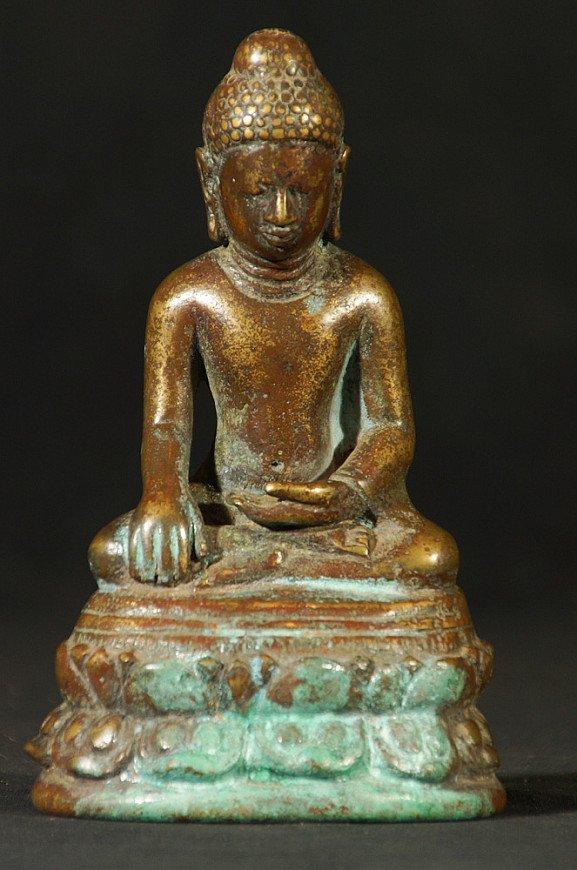 Bronze Pyu Buddha statue