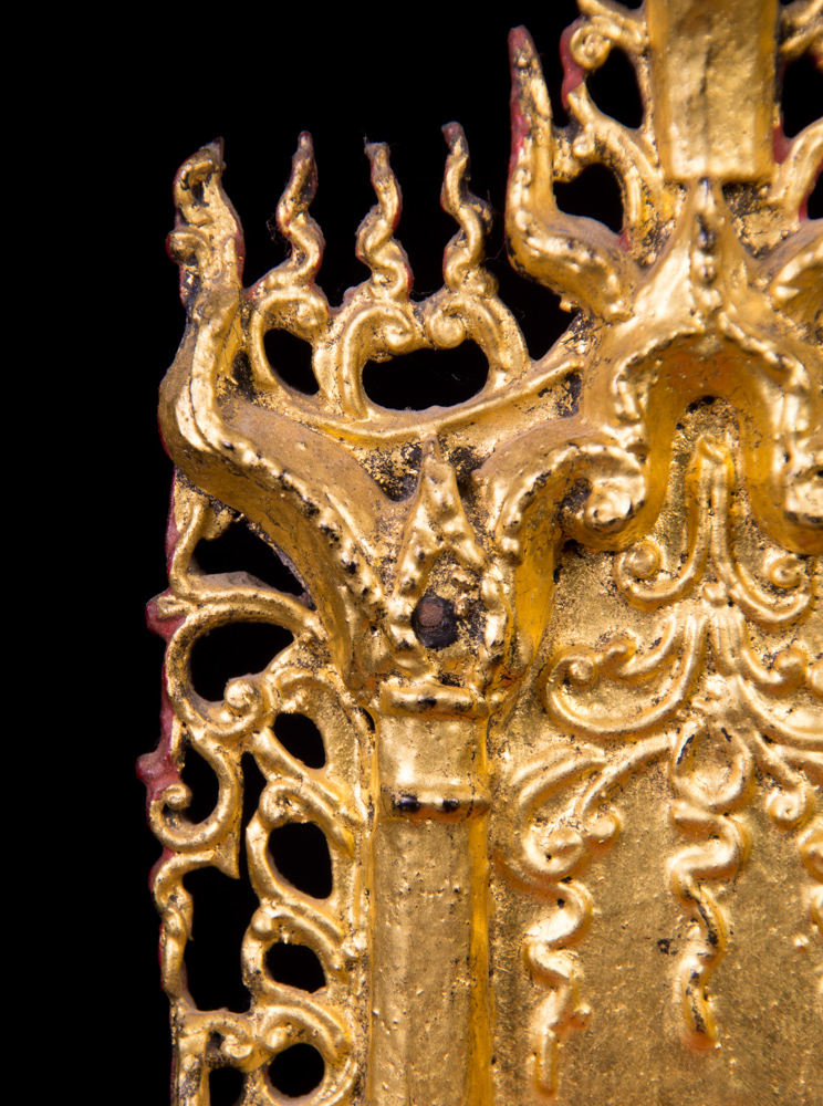 Antique Buddhist throne