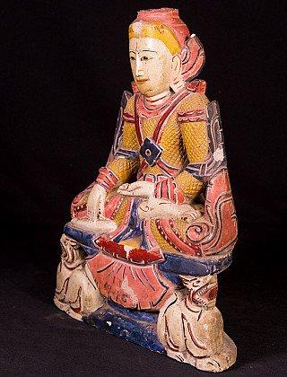Alte Birmesische Buddha Figur