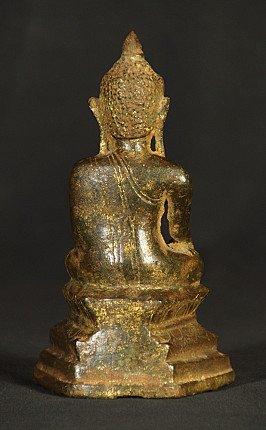 17. Jh. bronze Ava Buddha Figur