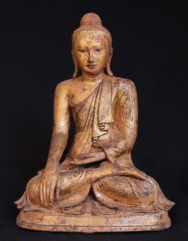 19th century bronze Mandalay Buddha