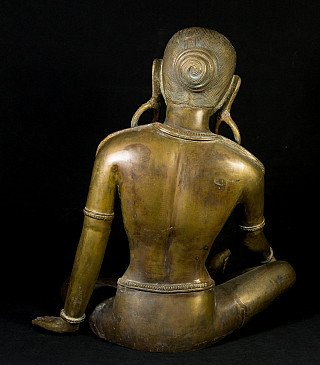 Bronze Parvati statue