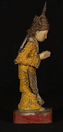 Old wooden Goddess