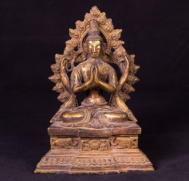 Antiek Bodhisatva beeld - Kacheri