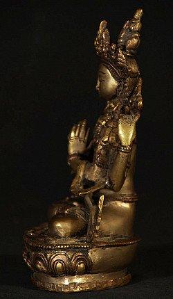 Old bronze Avaloketishvara statue