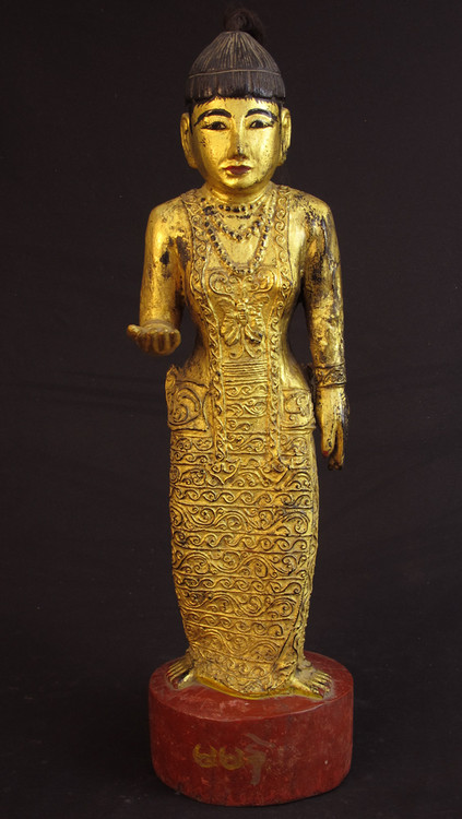 Antique Burmese Nat - spirit from Burma