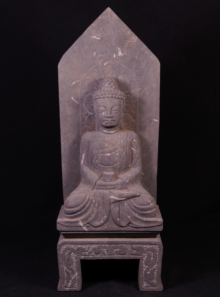 Granite stone Buddha statue from China