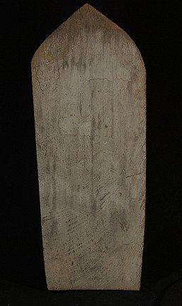 Altes hölzernes Buddha-Panel