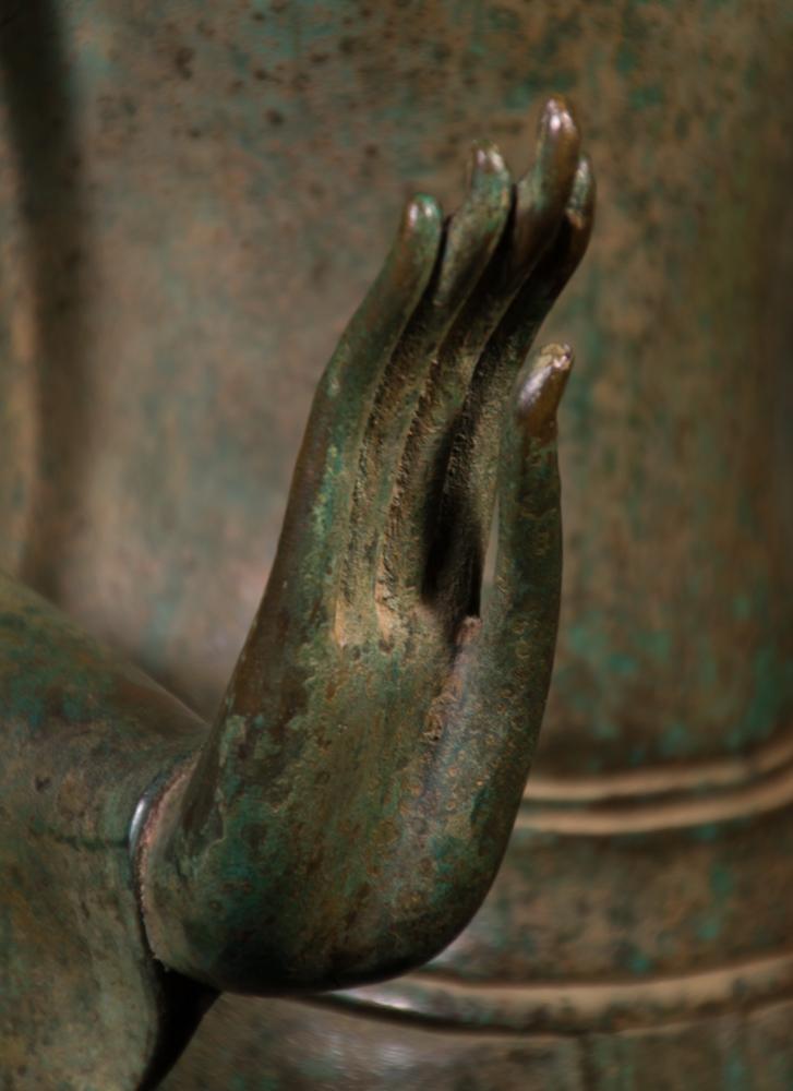 Bronze Thai Buddha statue