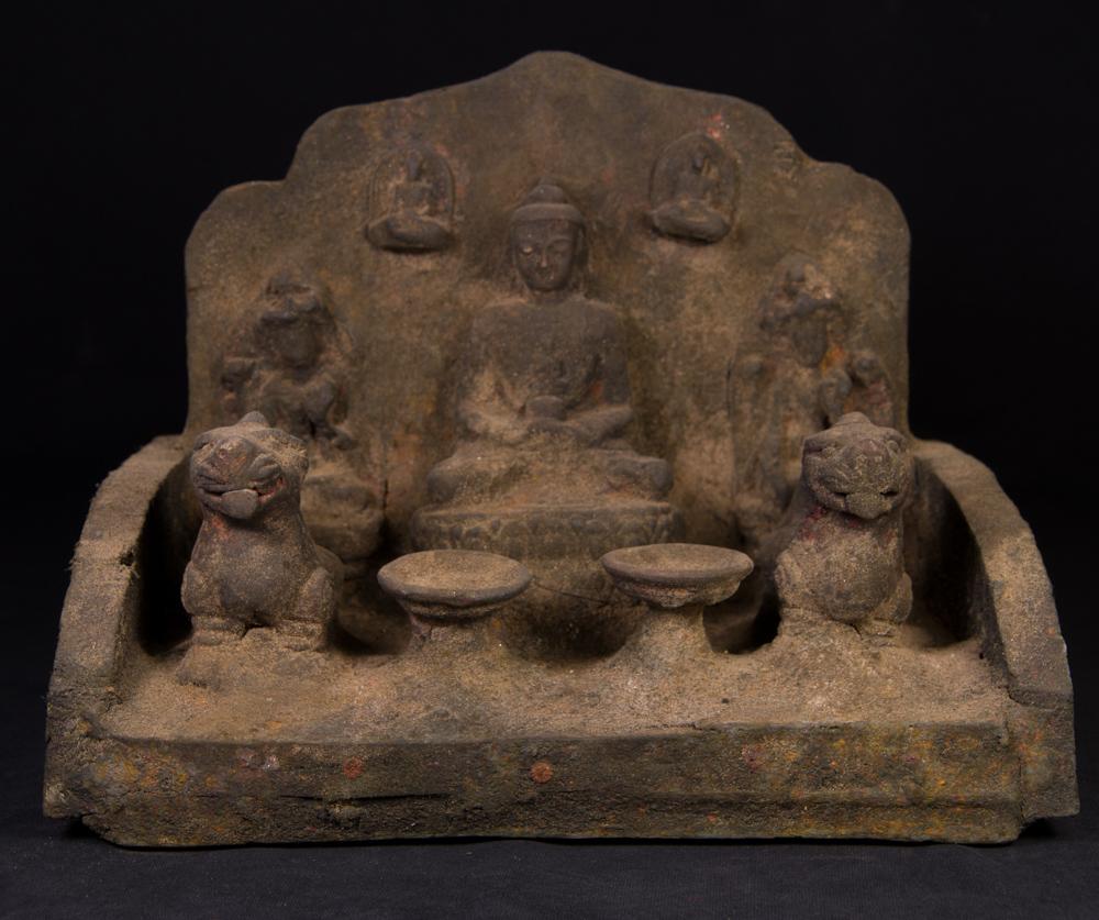 Old Nepali throne