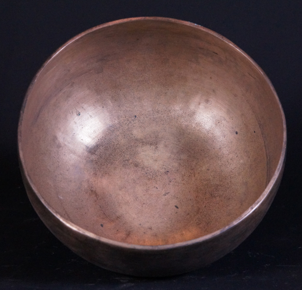 Antique Nepali Singing Bowl from Nepal made from Made of 7 different metals