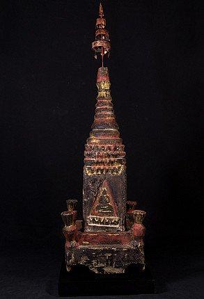 Antieke Birmese Pagode top