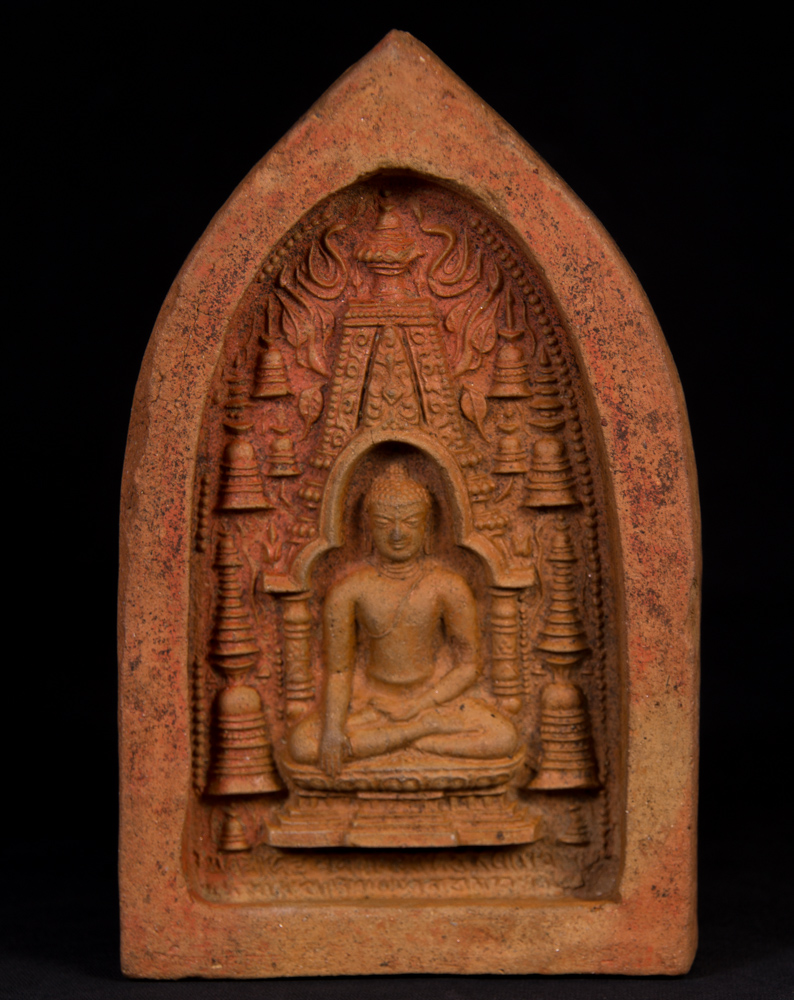 Antique Pagan Votive Tablet from Burma