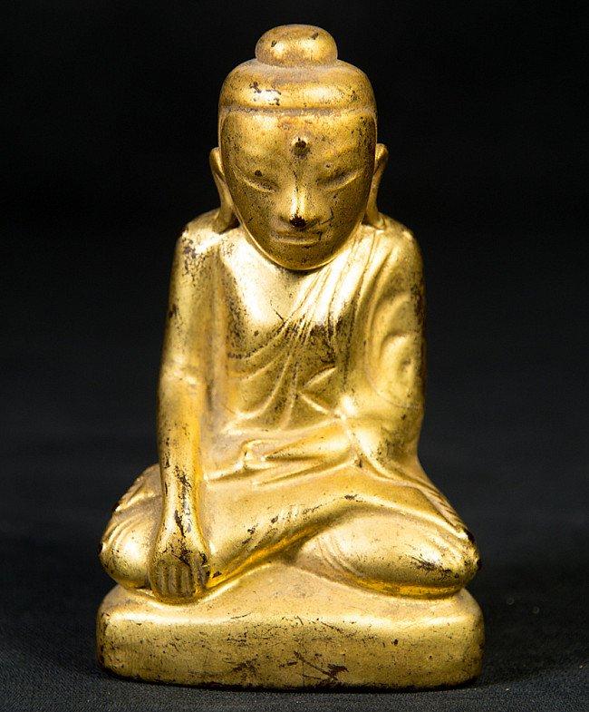 Antique Myanmar Shan Buddha statue