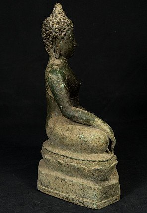 Antiek Chiang Saen Boeddhabeeld