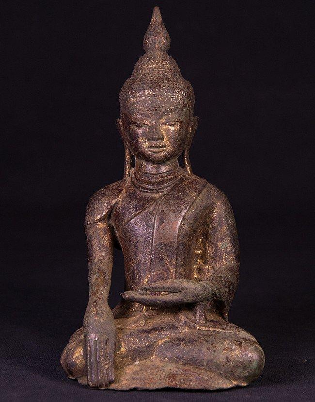 16th century bronze Buddha statue