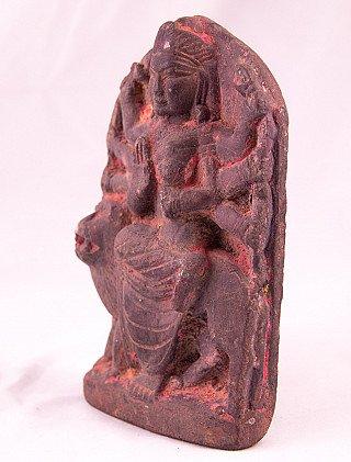 Antique Nepali stone Durga statue