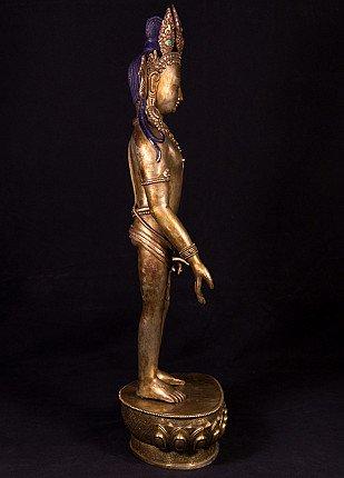 Alte bronze Bodhisattva Figur