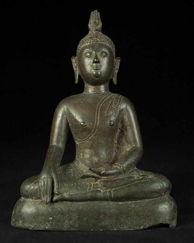 Antique bronze Sri Lanka Buddha statue