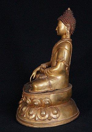 Large Nepali Buddha statue