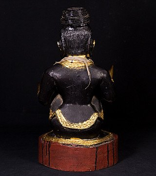 Old Burmese Nat statue