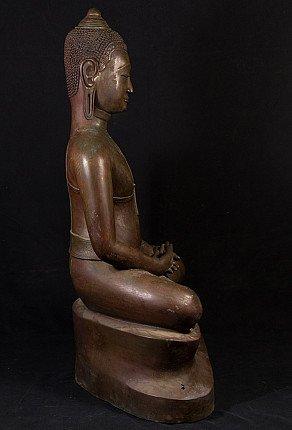 Large U-Thong Buddha statue