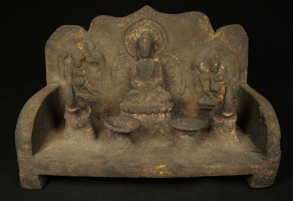 Old Nepali throne from Nepal