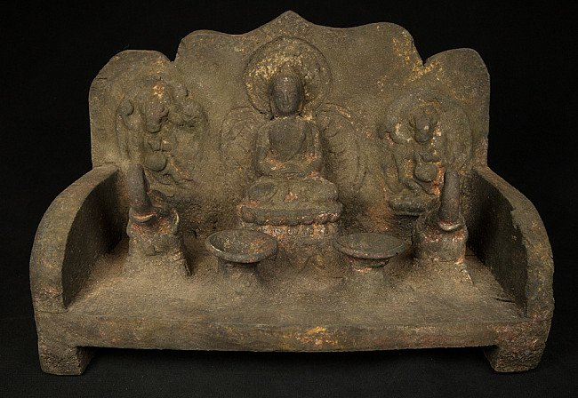 Old Nepali throne
