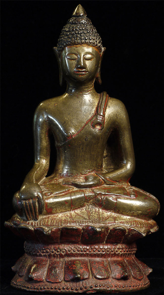 14th century Thai Lanna Buddha statue from Thailand
