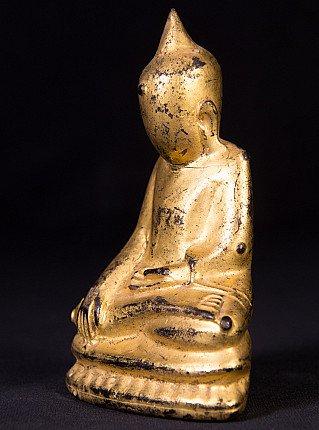 Antieke lacquerware Boeddhabeeld
