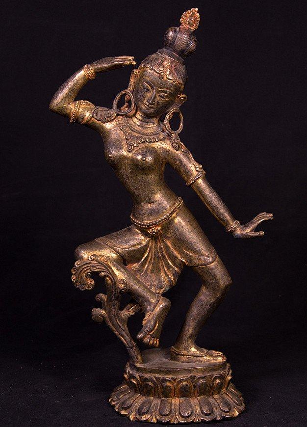 Antiek Nepalees Parvati beeld