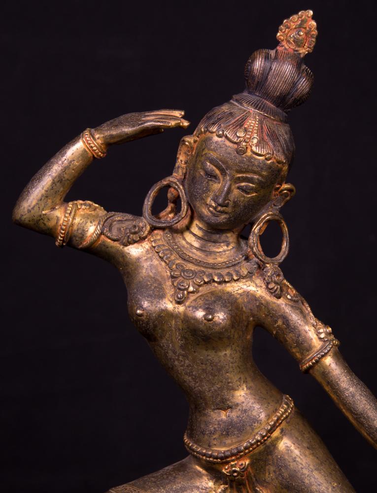 Antique Nepali Parvati statue